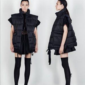 ZARA Studio Padded Oversized Winter Utility Vest